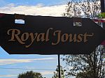 Royal Joust Sign