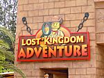 Lost Kingdom Adventure Sign