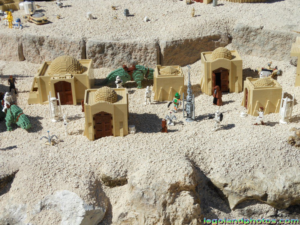 Lego Star Wars Miniland Tatoonie At Legoland Florida Photos