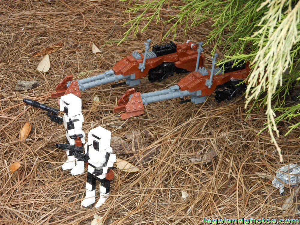 Lego Star Wars Miniland Endor At Legoland Florida Photos